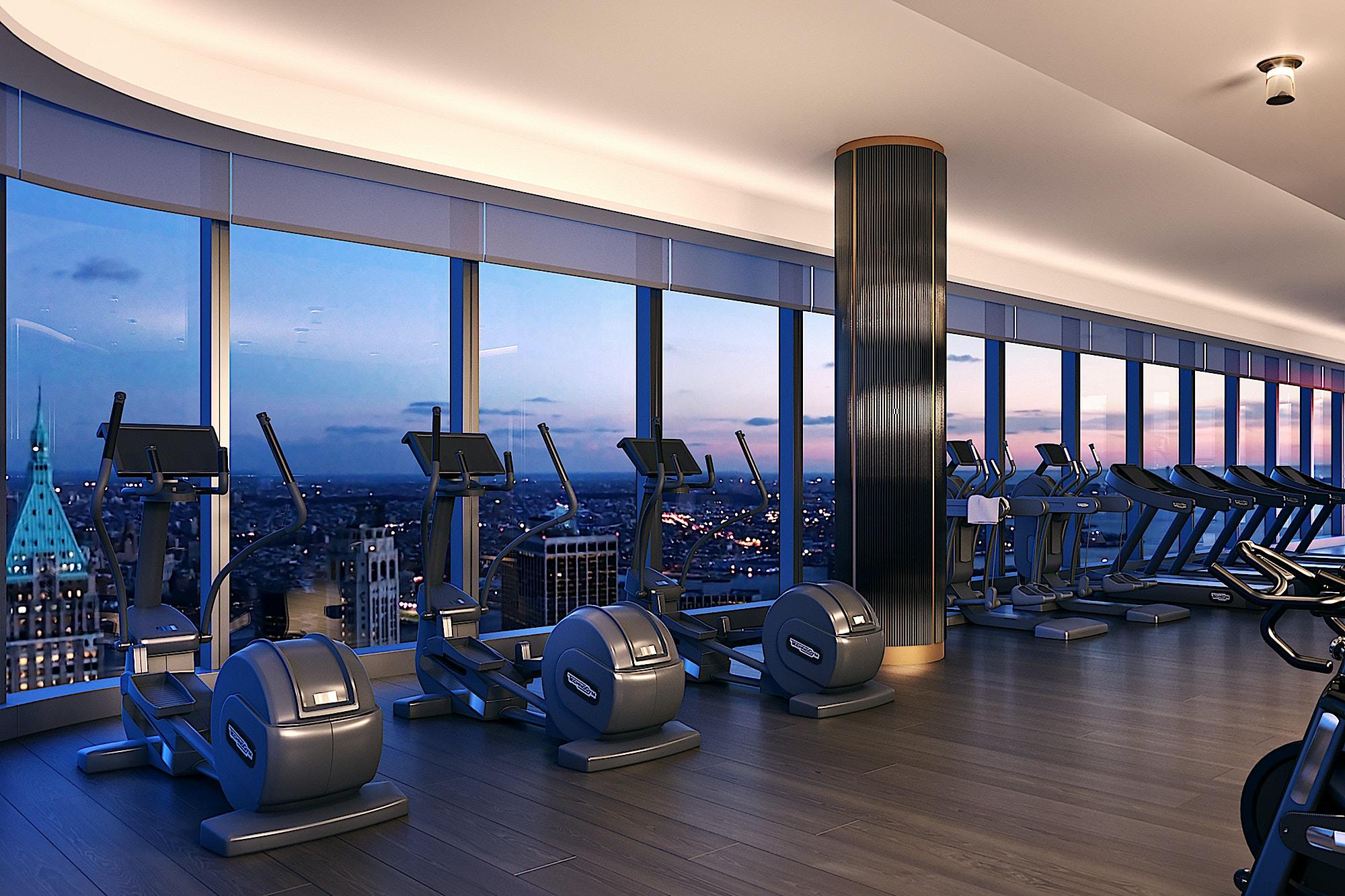 125-Greenwich-luxury-multifamily-gym