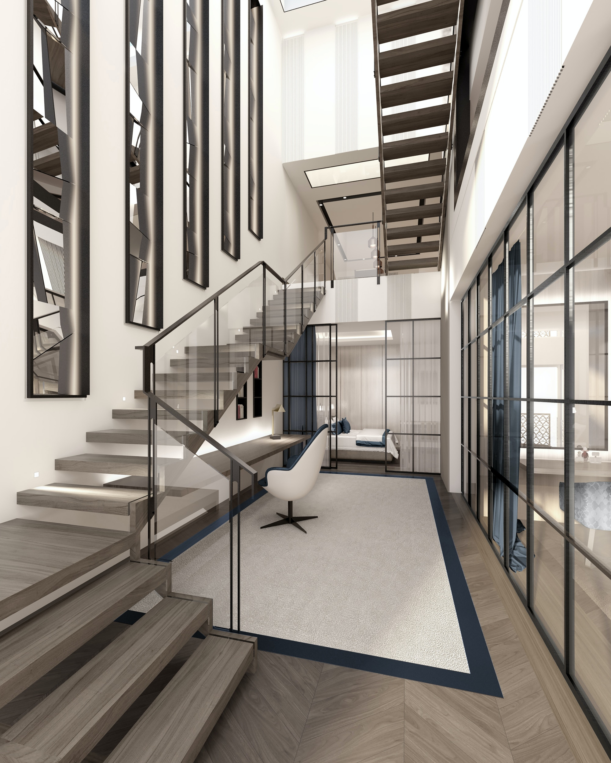MAWD-buckingham-gate-London-interior-stairs