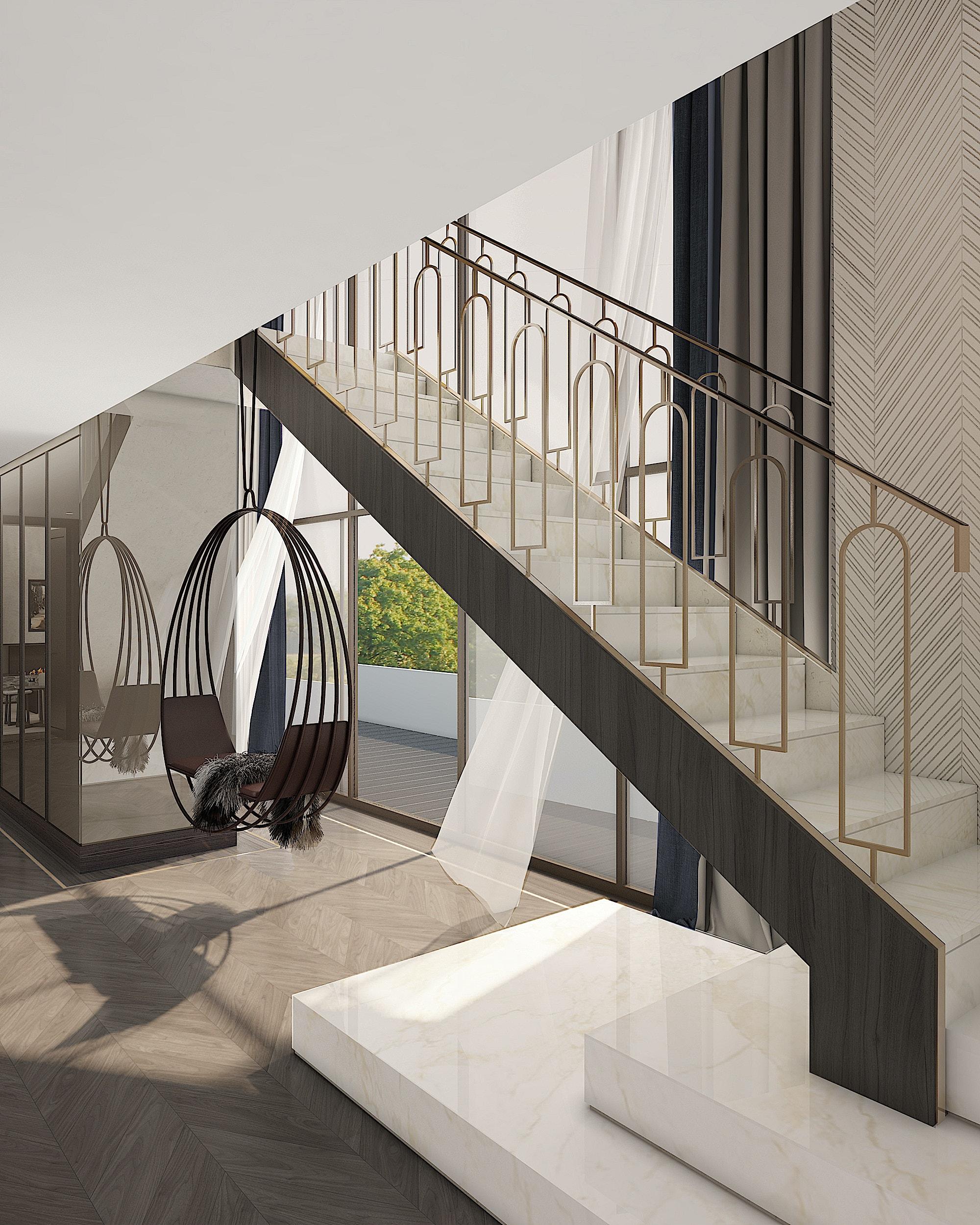 MAWD-buckingham-gate-London-penthouse-stair