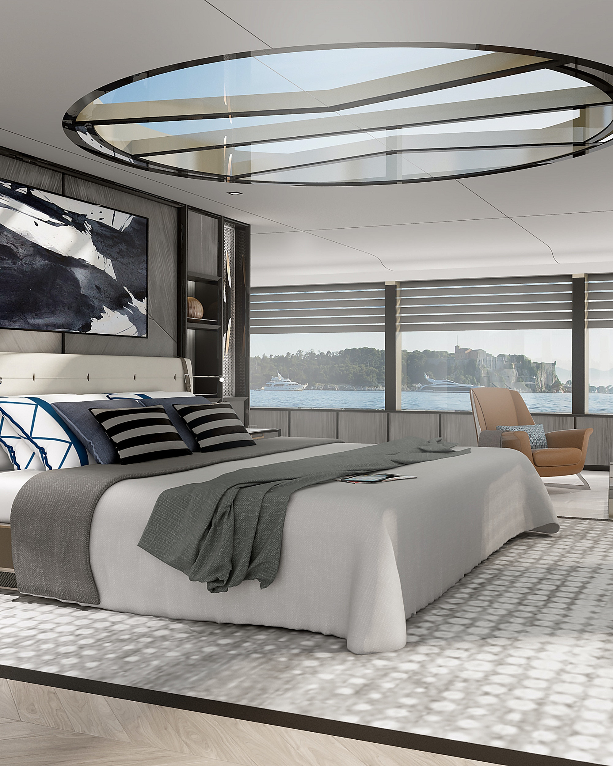 March-White-yacht-design-Blue-main-cabin